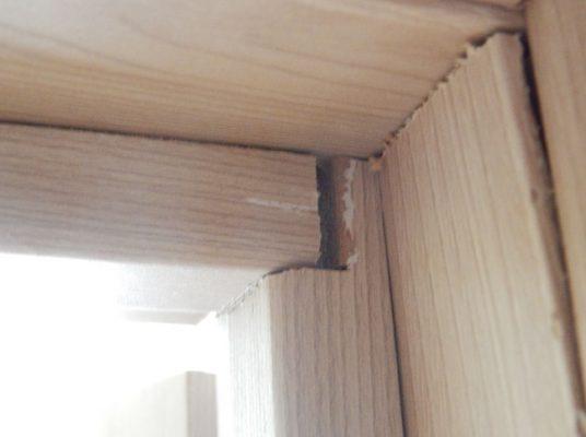 Дефекты дверной коробки рис 2